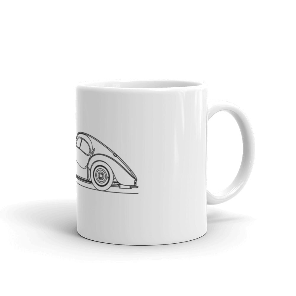 Bugatti Type 57SC Atlantic Mug