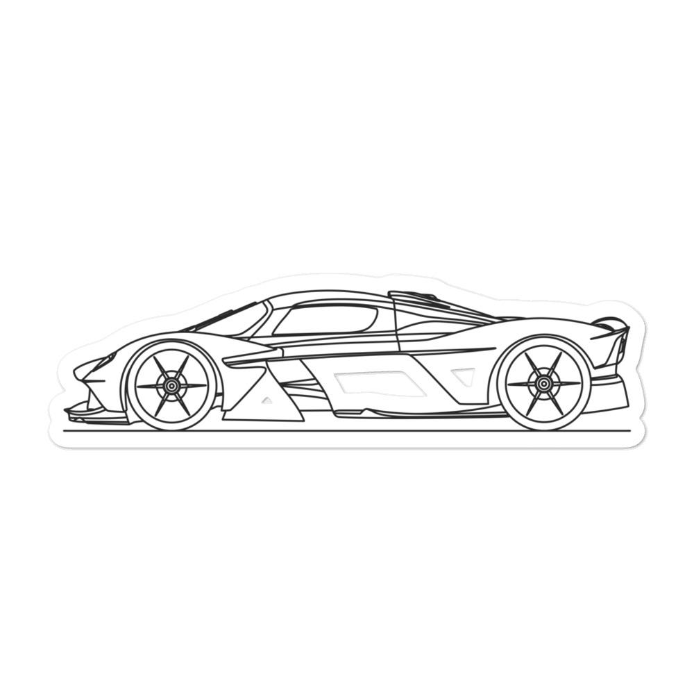 Aston Martin Valkyrie Sticker - Artlines Design