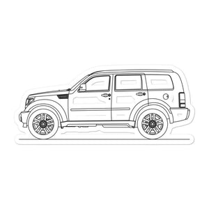 Dodge Nitro R/T Sticker - Artlines Design