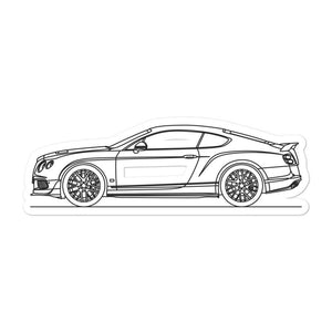 Bentley Continental GT3-R Sticker