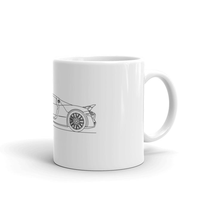 Porsche 918 Spyder Weissach Package Mug