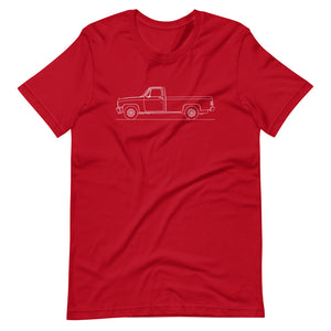 Chevrolet C/K 3rd Gen T-shirt Red - Artlines Design