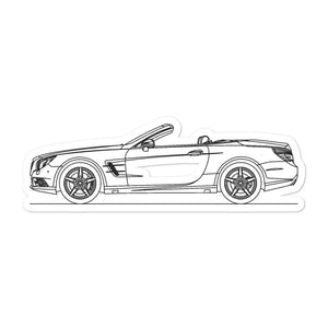 Mercedes-Benz SL 550 R231 Sticker