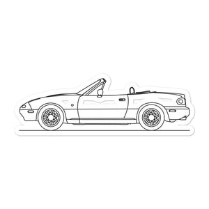 Mazda MX-5 NA Sticker - Artlines Design