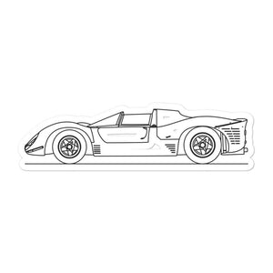 Ferrari 330 P4 Sticker - Artlines Design