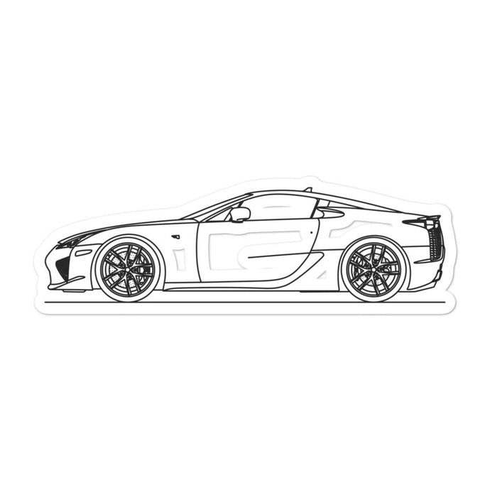 Lexus LFA Sticker - Artlines Design
