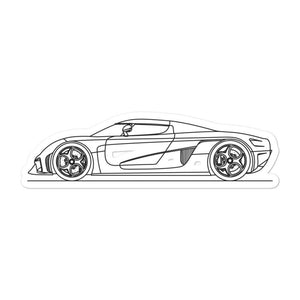 Koenigsegg Regera Sticker - Artlines Design
