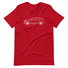 Load image into Gallery viewer, BMW F39 X2 T-shirt Red - Artlines Design