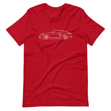 Load image into Gallery viewer, Porsche Cayman S 718 T-shirt Red - Artlines Design