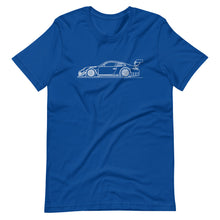 Load image into Gallery viewer, Porsche 911 997.2 GT3-R T-shirt True Royal - Artlines Design