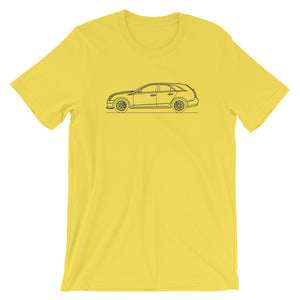 Cadillac CTS-V II Wagon T-shirt Yellow - Artlines Design