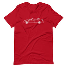 Load image into Gallery viewer, BMW F90 M5 T-shirt Red - Artlines Design