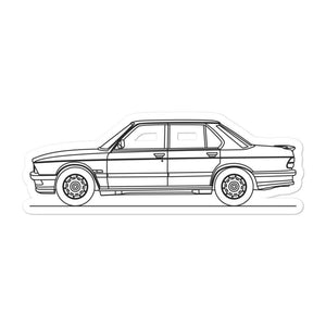 BMW E28 M535i Sticker - Artlines Design