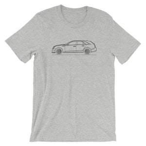 Cadillac CTS-V II Wagon T-shirt Athletic Heather - Artlines Design
