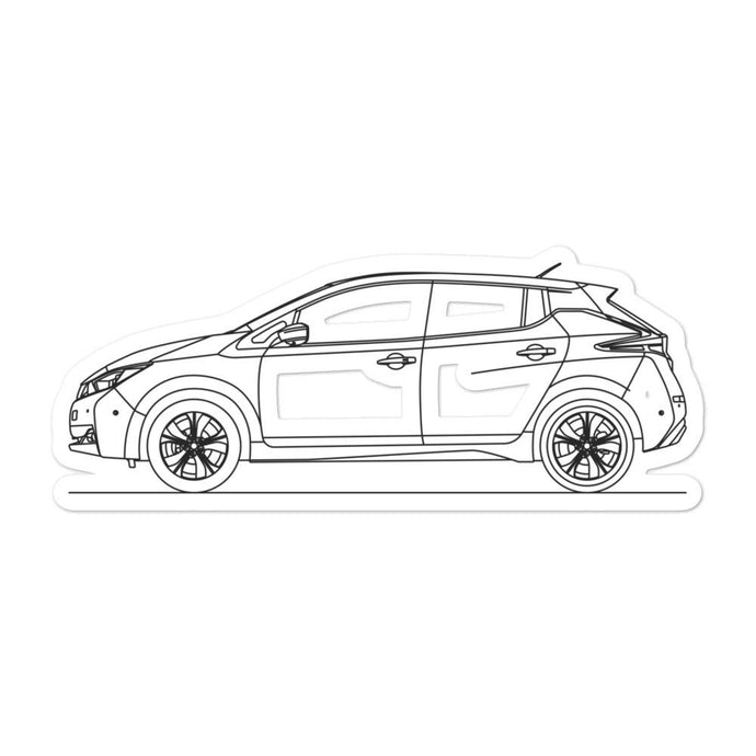 Nissan Leaf II Sticker - Artlines Design
