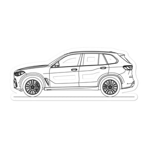 BMW G05 X5 Sticker - Artlines Design