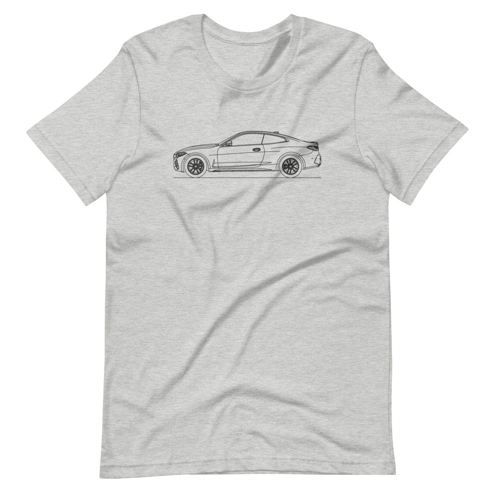 BMW G22 M440i xDrive T-shirt Athletic Heather - Artlines Design