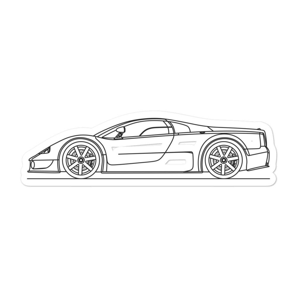 Volkswagen W12 Syncro Sticker - Artlines Design