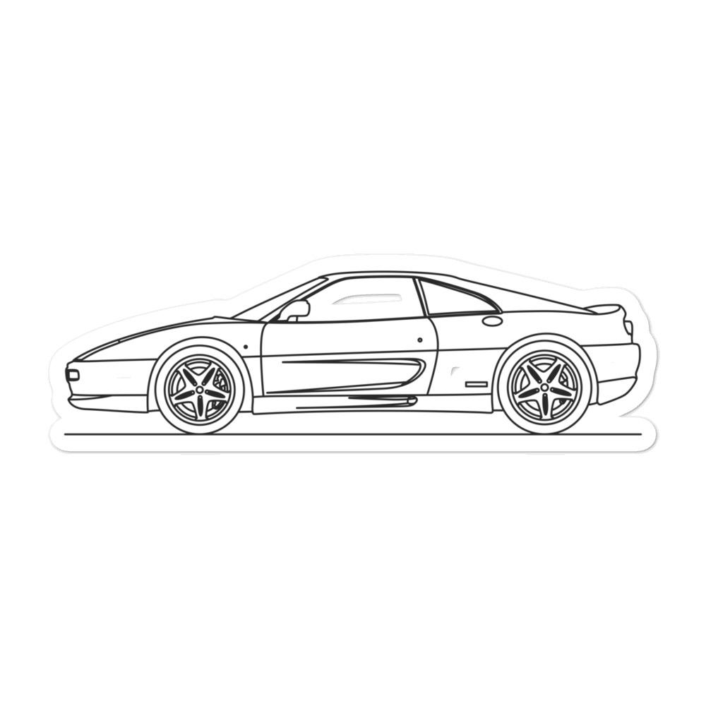 Ferrari F355 Sticker - Artlines Design