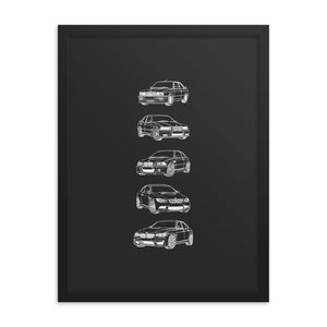 BMW M3 FTQ Evolution Poster