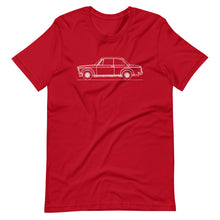 Load image into Gallery viewer, BMW 2002 Turbo T-shirt Red - Artlines Design