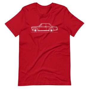 BMW 2002 Turbo T-shirt Red - Artlines Design