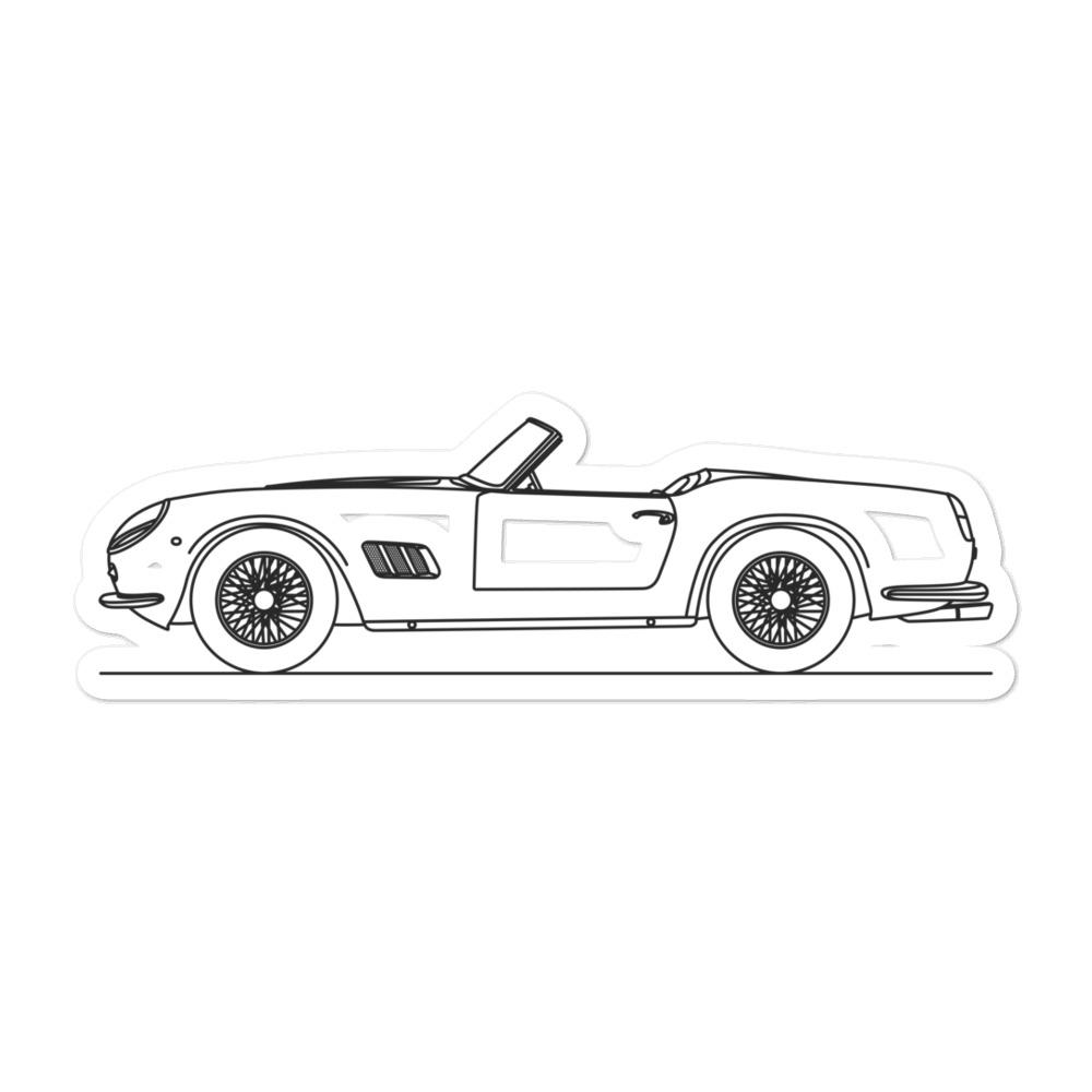 Ferrari 250 GT California Sticker - Artlines Design