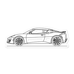 Lotus Evora 400 Sticker - Artlines Design
