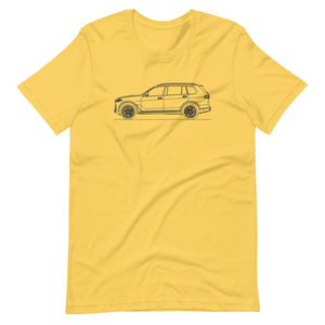 BMW G07 X7 T-shirt - Artlines Design