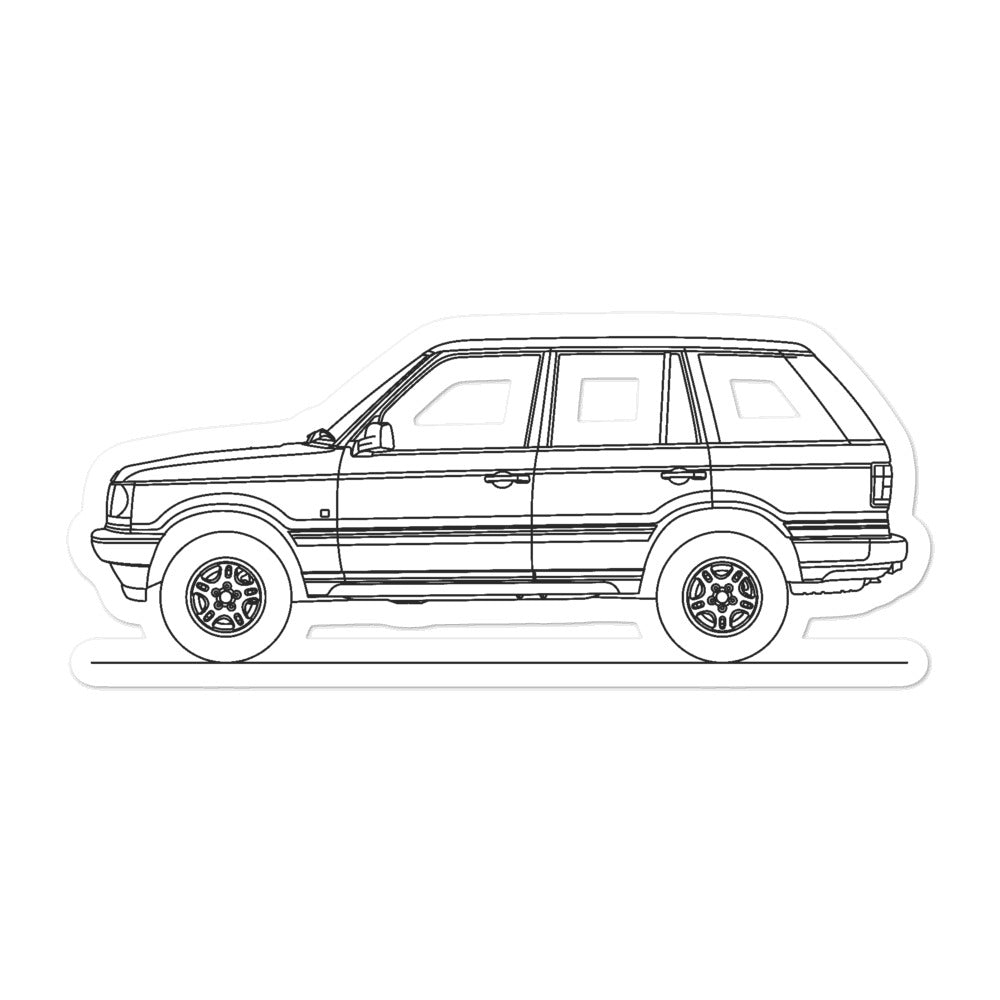 Land Rover Range Rover P38A Sticker