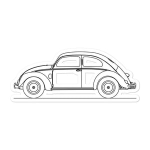 Volkswagen Beetle I Sticker - Artlines Design