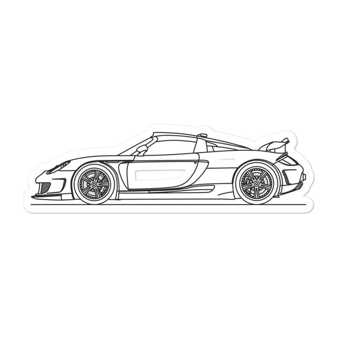 Gemballa Mirage GT Sticker - Artlines Design
