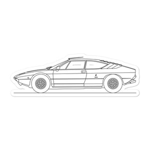 Lamborghini Uracco Sticker - Artlines Design