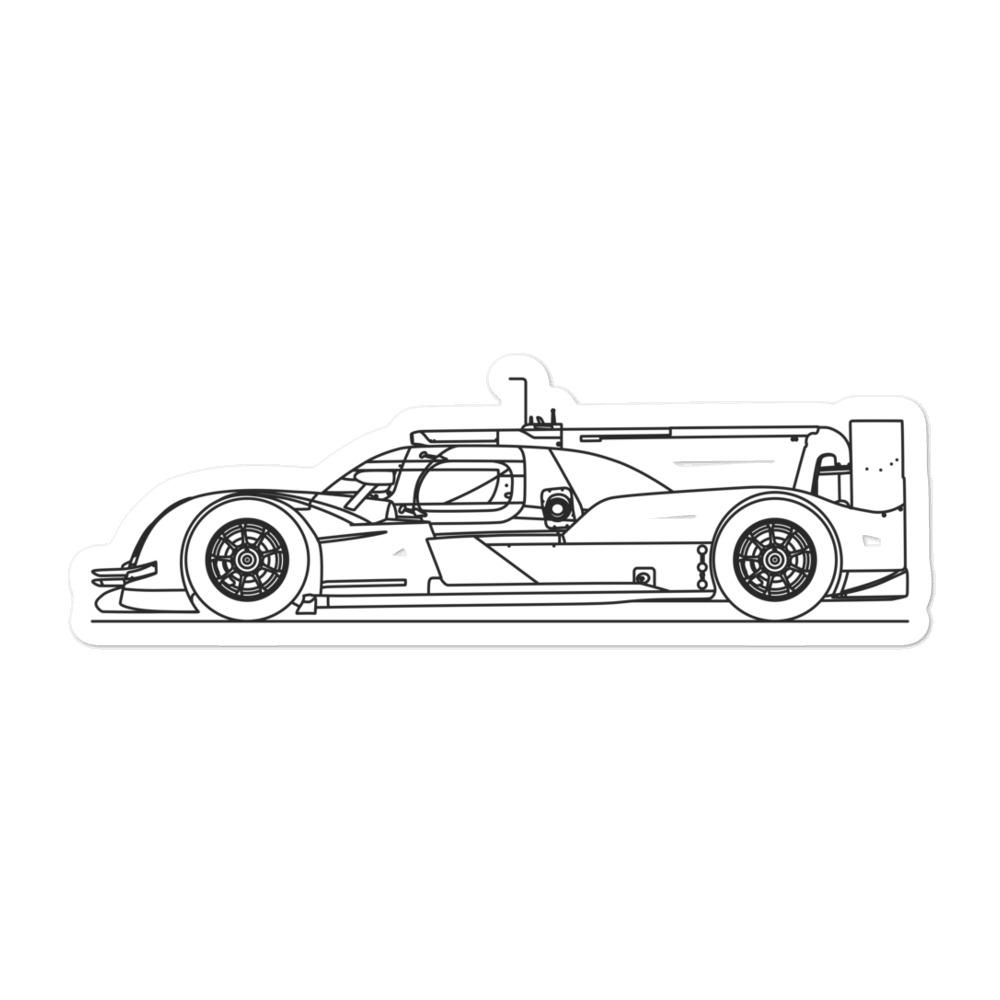 Audi R18 Sticker - Artlines Design
