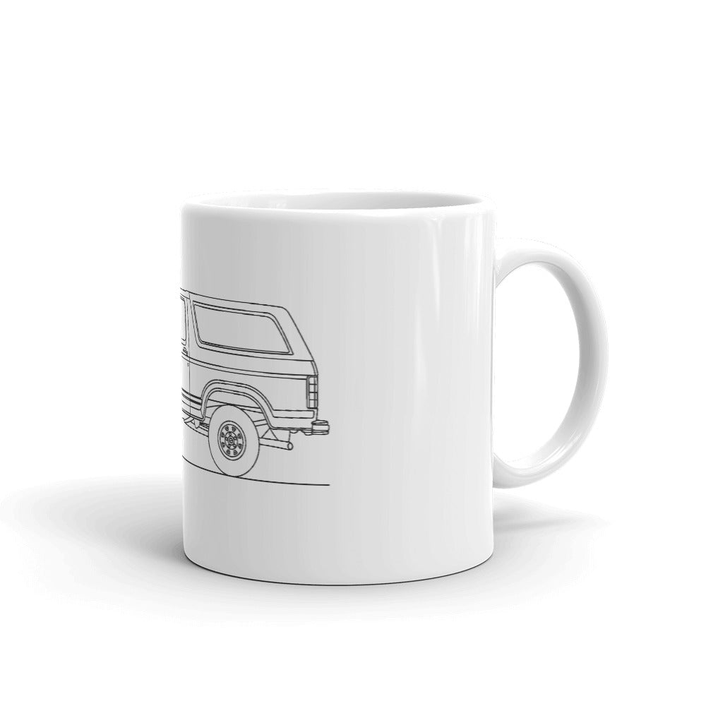 Ford Bronco 2nd Gen Mug
