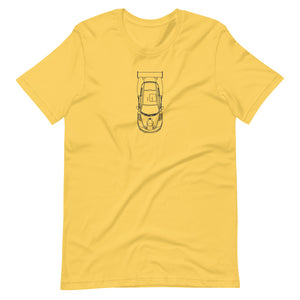 Porsche 935 Top T-shirt Yellow - Artlines Design