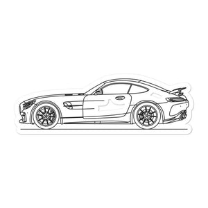 Mercedes-AMG R190 GT R Sticker - Artlines Design