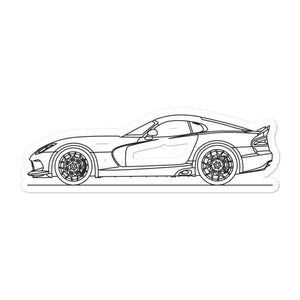 Dodge Viper III Sticker - Artlines Design