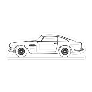 Aston Martin DB4-GT Sticker