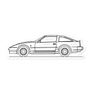 Nissan 300ZX Z31 Sticker - Artlines Design
