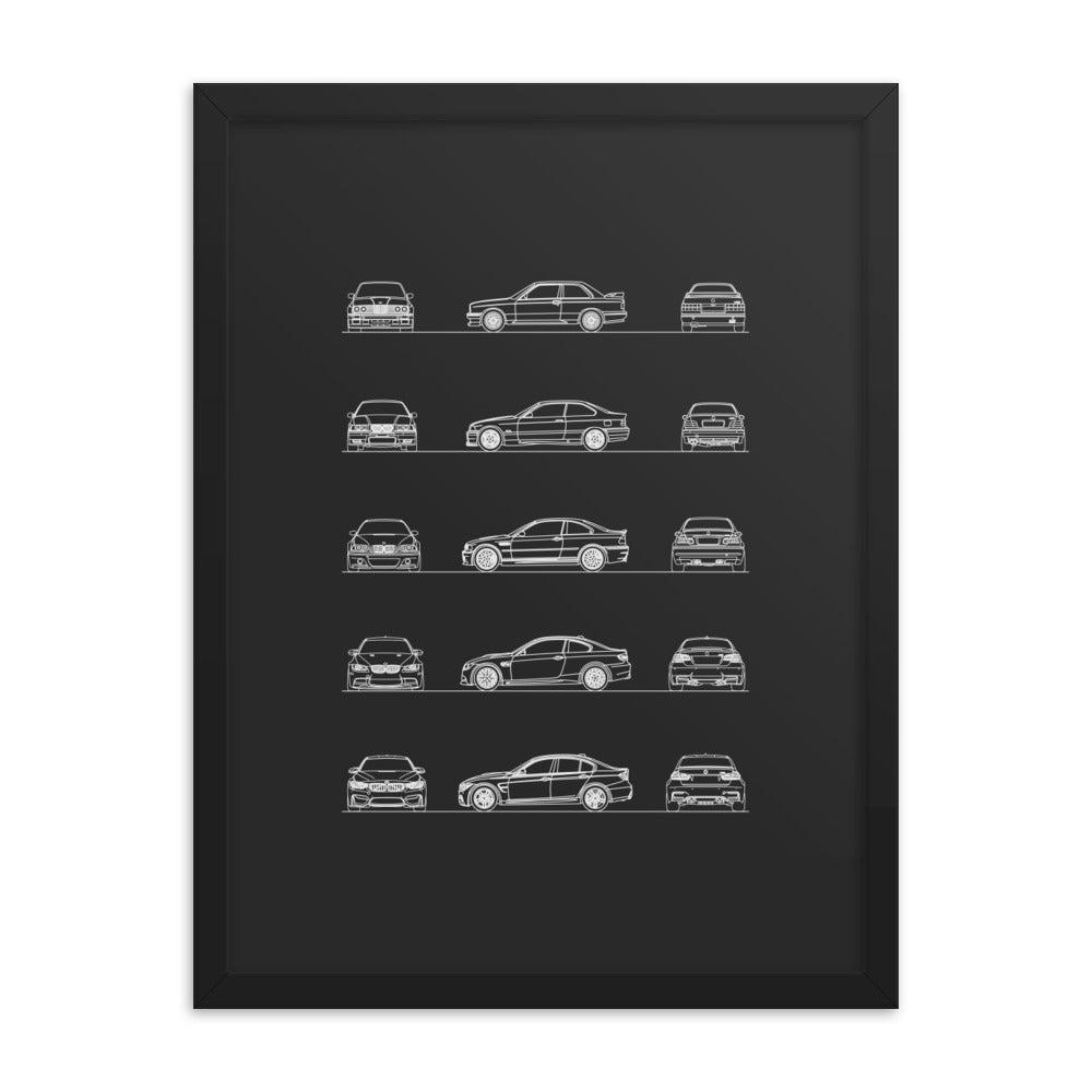 BMW M3 Evolution FSR Poster