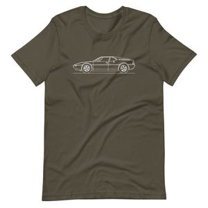 BMW E26 M1 T-shirt Army - Artlines Design