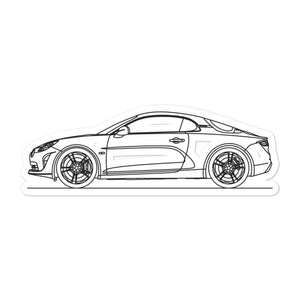 Alpine A110 II Sticker - Artlines Design