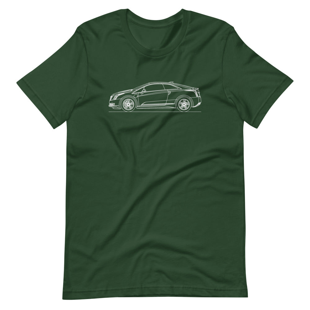 Cadillac ELR T-shirt Forest - Artlines Design