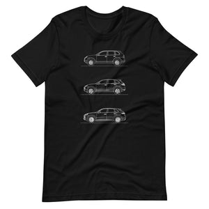 Porsche Cayenne Evolution T-shirt Black - Artlines Design