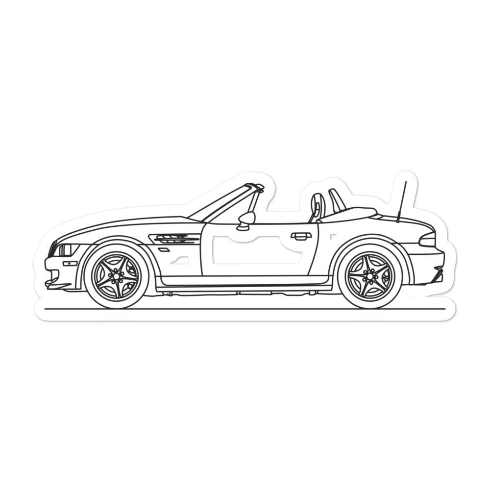 BMW E36 Z3M Roadster Sticker