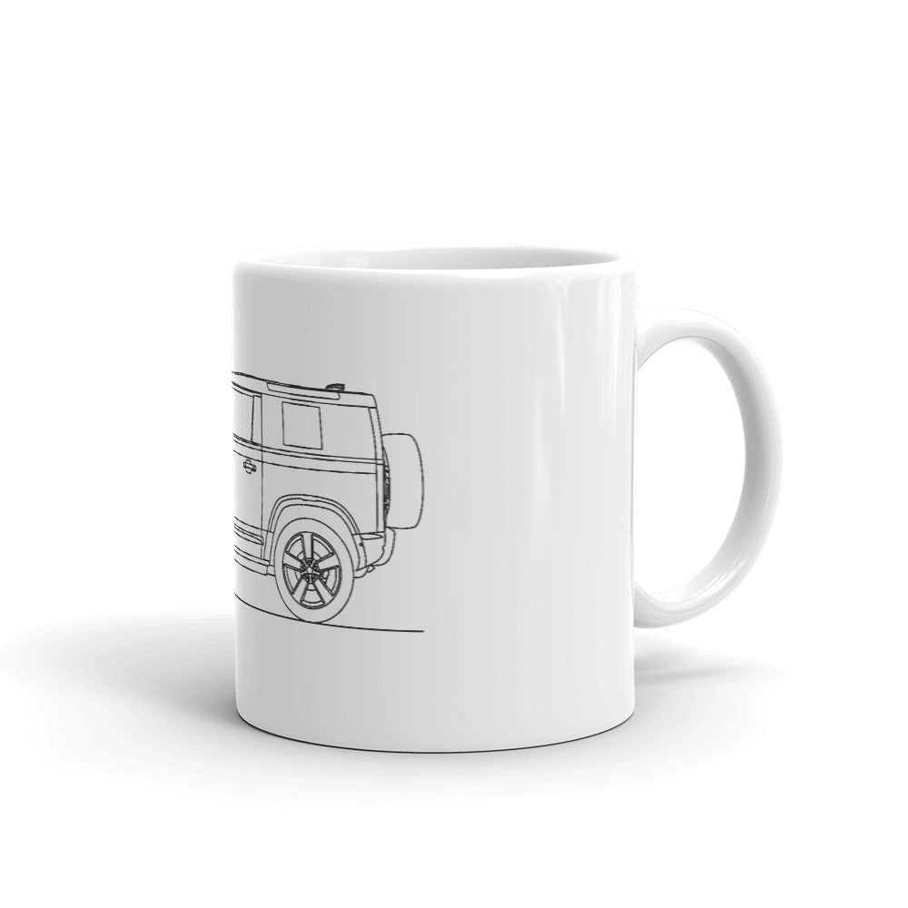 Land Rover Defender 90 L663 Mug