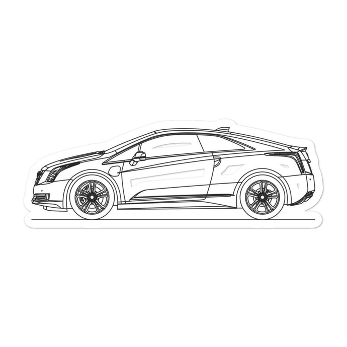 Cadillac ELR Sticker - Artlines Design