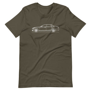 Cadillac CT6 T-shirt Army - Artlines Design