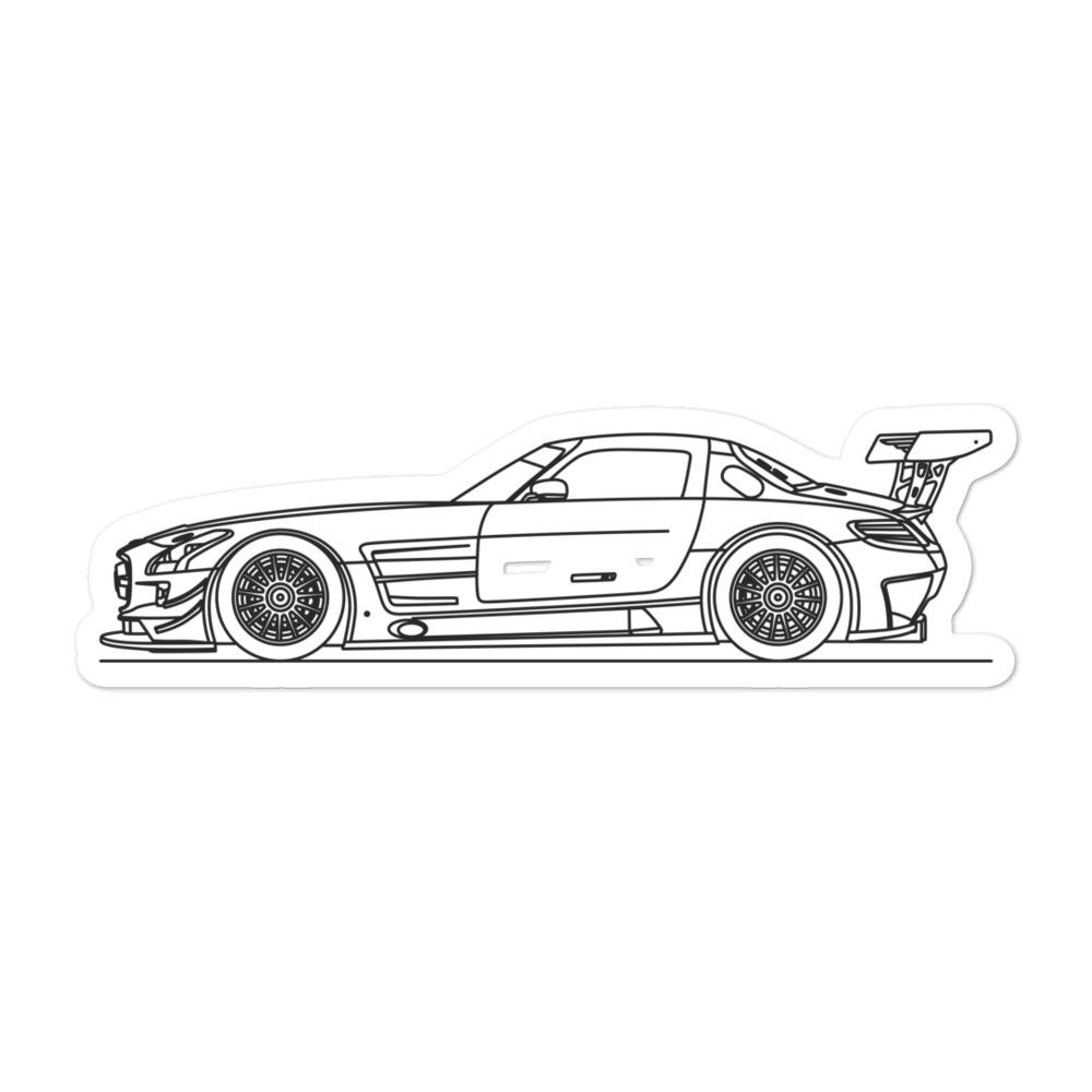 Mercedes-Benz R197 SLS AMG GT3 Sticker - Artlines Design